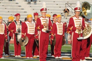 Band receives superior ratings at FHSU Marching Festival