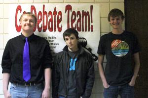 State Debate goes 3-3