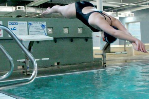 Swimming preparation requires hard work, dedication