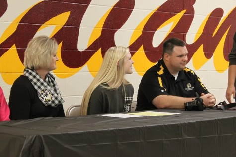 Senior Madison Prough signs to Fort Hays
