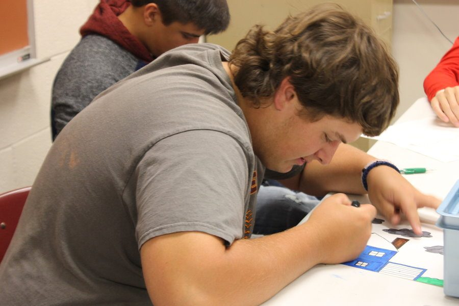 Coloring becomes common way to pass time in class