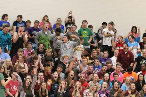 Homecoming games assembly creates pep