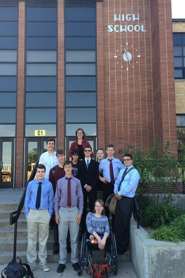 Debate team travels to Great Bend