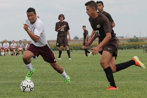 Soccer team defeats Junction City