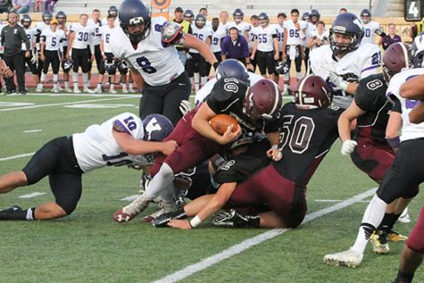 Indian football falls to McPherson