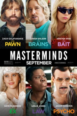 """""""Masterminds"""" intertwines true story with comedic relief"""