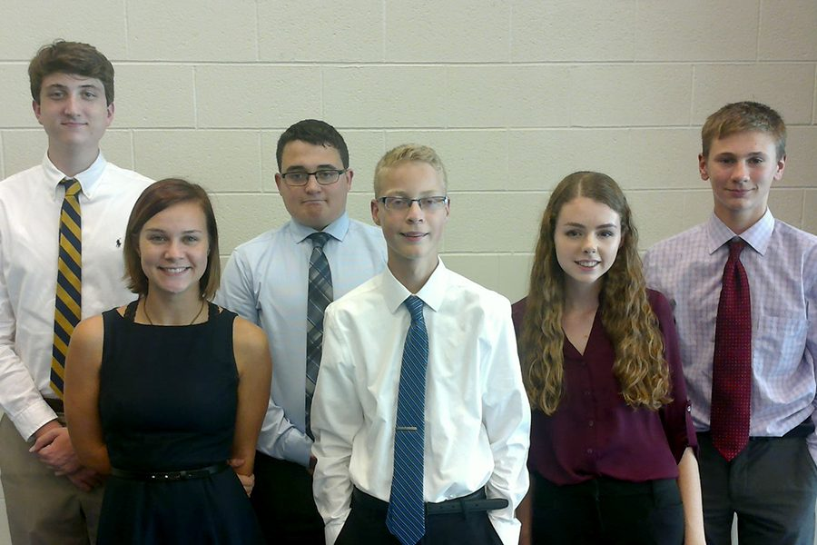 Debate competes at Salina Sacred Heart