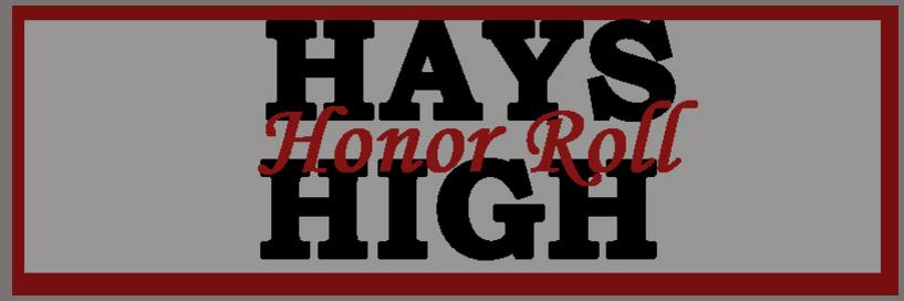 First nine weeks Honor Roll