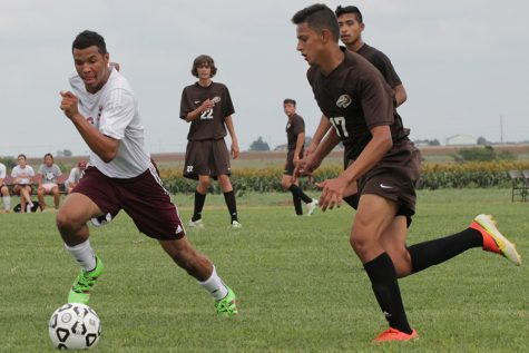 Mens soccer team WAC honors awarded