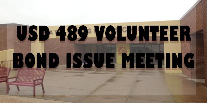 USD 489 hosts bond issue volunteer meeting