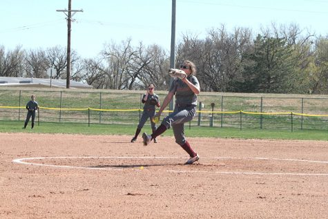 Indian Softball falls to Maize Eagles and Goddard Lions on April 12