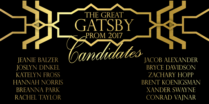 Prom candidates talk honor of nomination