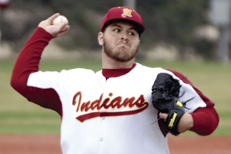 Senior Grant Coffman pitches perfect game in Russell double header
