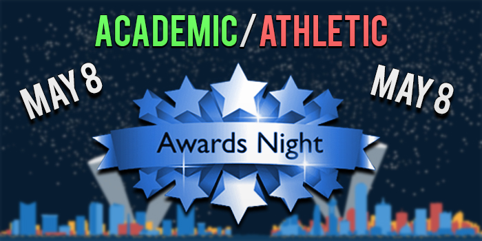 Academic and Athletic Awards Night to be held Monday