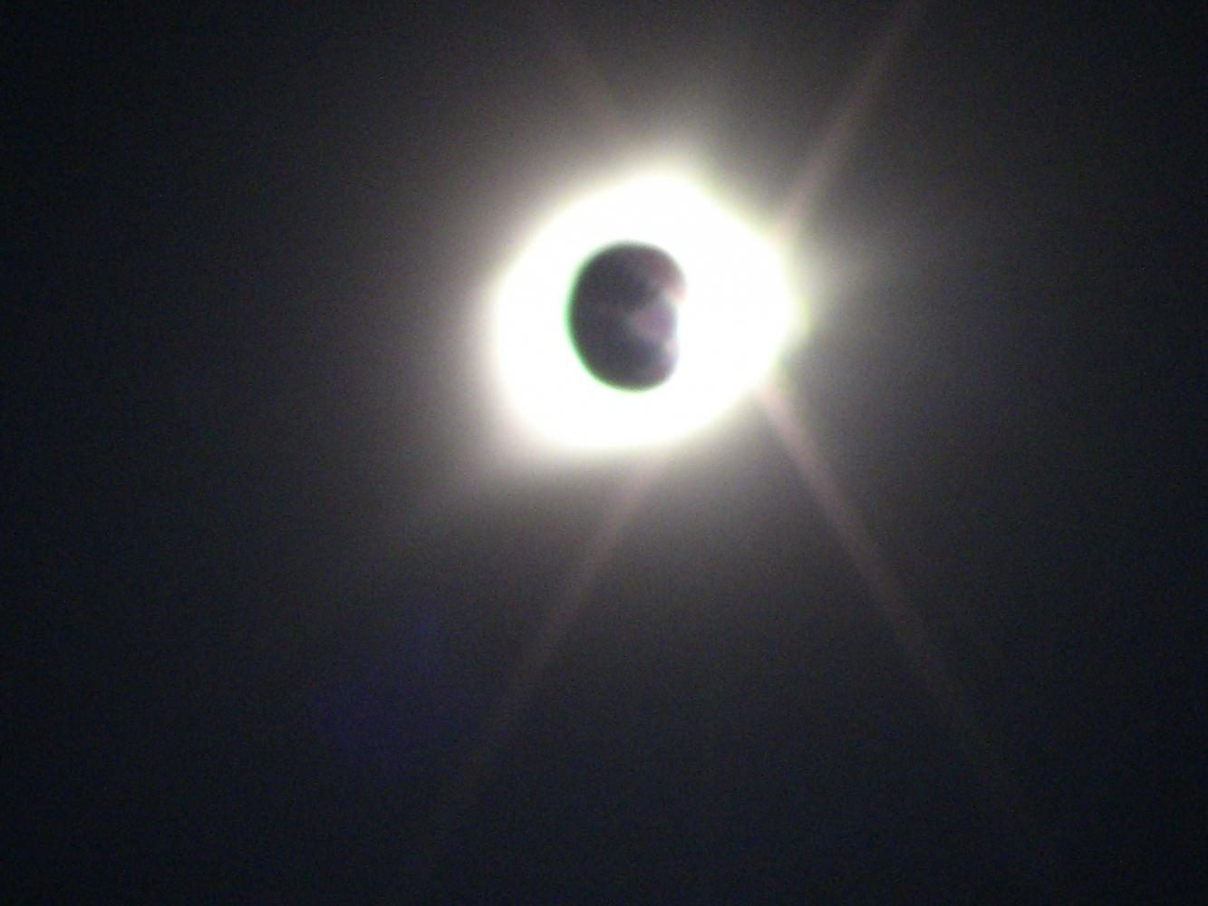 Junior+Isaiah+Schindler+snaps+pictures+of+the+eclipse+where+he+was+one+of+the+40+students+chosen+to+watch+the+complete+totality+in+Nebraska.+
