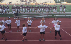 Cheerleaders host Little Indians Cheer Camp