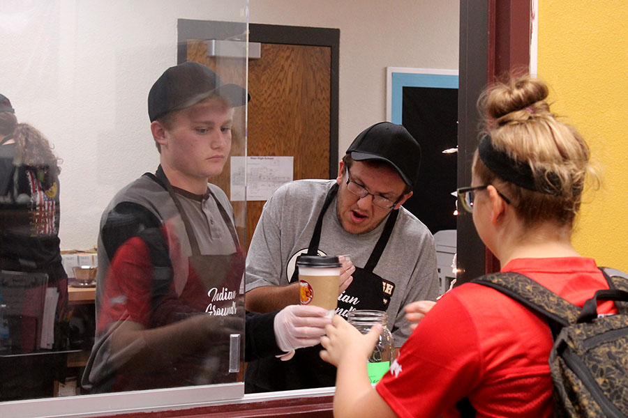 The Indian Grounds coffee shop is open every Maroon day from 7:15 to 7:50 a.m.