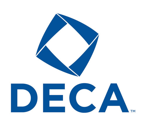 DECA is an association that was founded in 1946. This is juniors Isabelle Braun, Kallie Leiker, and Brianna Forinash's first year as members.