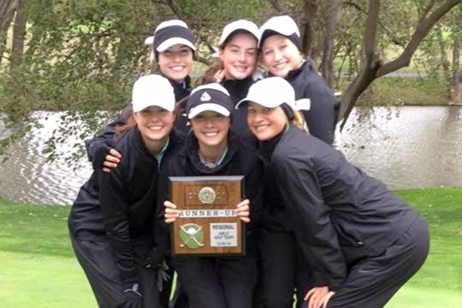 The+Lady+Indian+golf+team+won+second+place+at+regionals%2C+sending+them+to+state+for+the+12th+consecutive+year.+