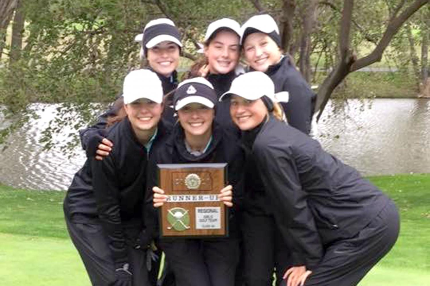 The Lady Indian golf team won second place at regionals, sending them to state for the 12th consecutive year.