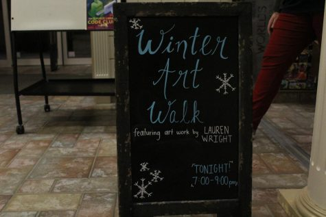 Winter Art Walk features numerous artists