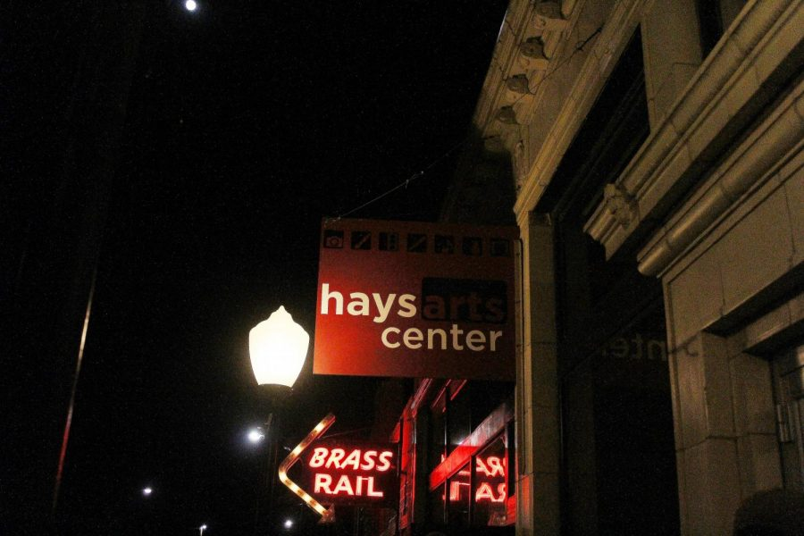 The+downtown+Hays+Arts+Center+holds+many+art+showings+of+local+artists.+