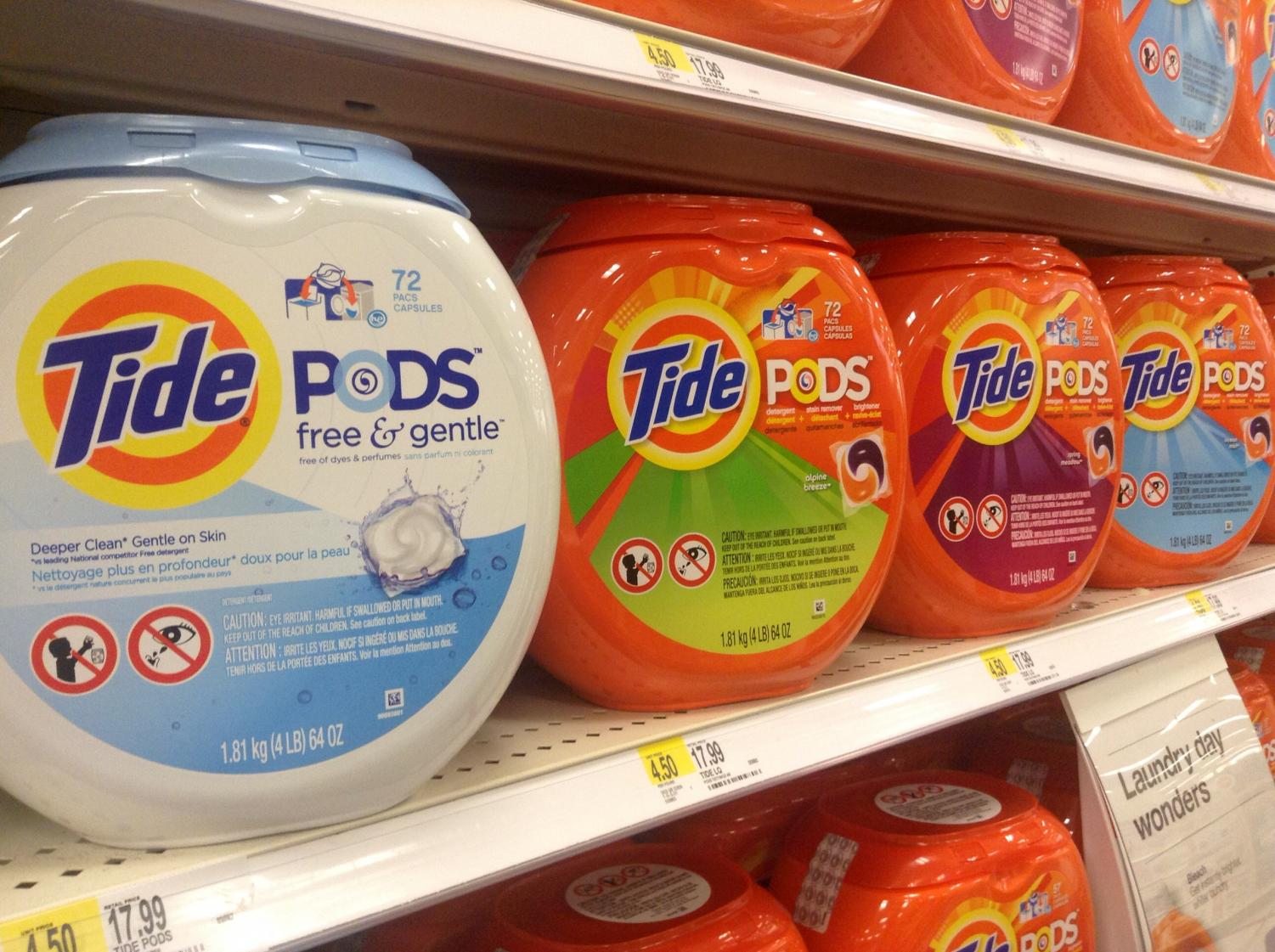 An internet joke regarding consumption of laundry detergent pods has taken a serious turn in the early days of the new year.