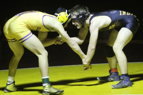 Indian wrestling beats Spring Hill at home