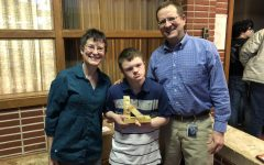 Senior Gavin Jacobson was awarded the Best of the Best award on Feb. 26. Jacobson was chosen by secretary Sue Rouse.