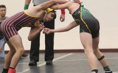 Wrestling team competes at Garden City