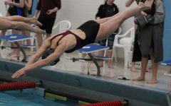 Lady Indian swimming places fifth in March 13 season opener