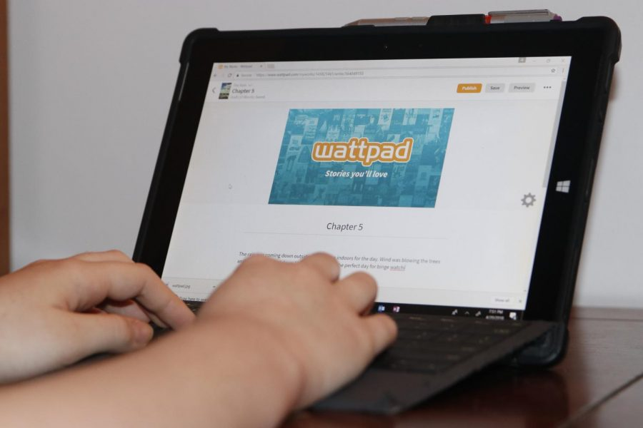 Wattpad is one of several sites that offer people the chance to publish their own stories and discover new writers.