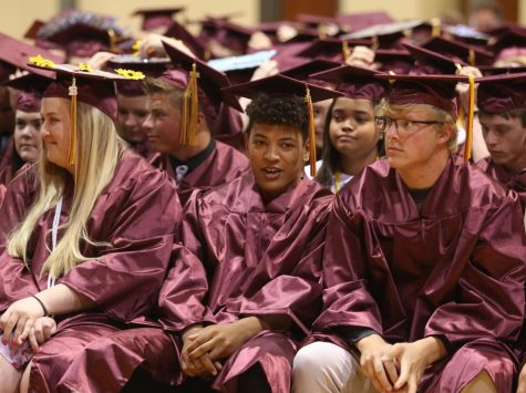 168 seniors walk across stage during graduation on May 13