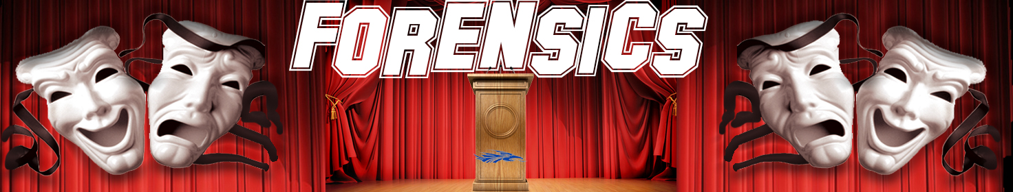 Eight students competed in the Kansas State Forensics Tournament on May 5.