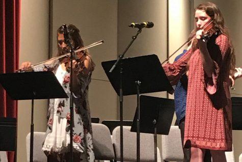 Senior receives recognition at Spring Concert