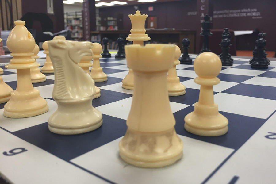 Chess Club will be held in the library every Thursday after school at 3:15