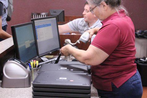 Students receive new Dell Latitude computers