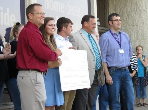 Gordmans donates $2,500 for activities designed to positively influence students