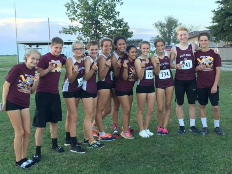 Eleven Medalist at McPherson XC Meet