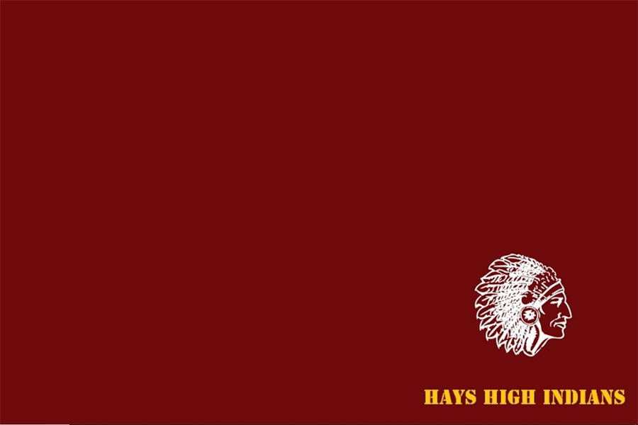 The standardized desktop background for Hays High students