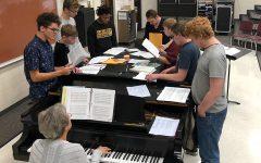 Students prepare for KMEA District Choir auditions