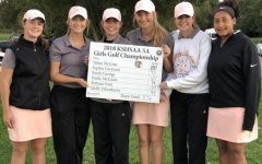 The girls golf team ended its season with a sixth-place finish at the state golf tournament on Oct. 16.