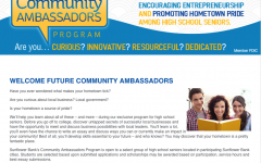 Sunflower Community Ambassadors selected, ambassadors meet for first time on Nov. 7