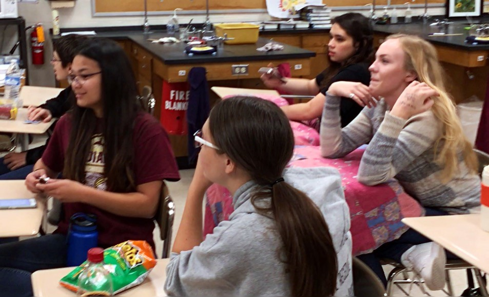 Astronomy Club met on Nov. 1 to watch