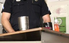 Officer speaks to health class about drugs, alcohol