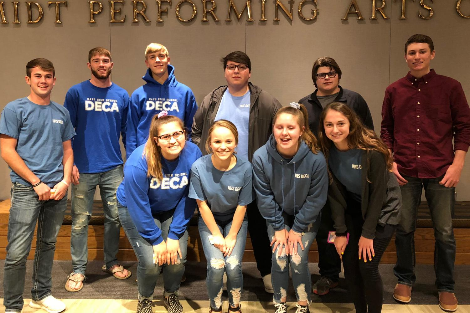 Marketing students from both the Marketing Applications class and Principles of Marketing were able to attend the Daymond John presentation on Nov. 7 at Beach Schmidt. John has a clothing line called FUBU and is currently still a shark on