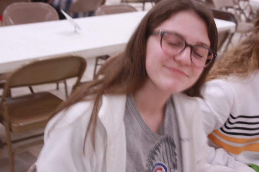Sophomore, Kilee Hale