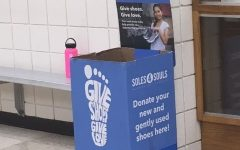 Students collect shoes in Calista Isbell's memory