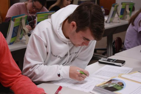 Accounting class teaches students about finances
