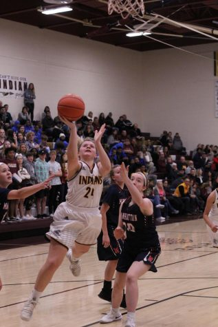 Lady Indians take 60-29 victory over rival Great Bend on Feb. 5